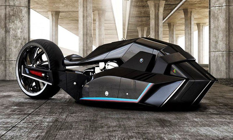 Latest Bmw Titan Motorcycle Concept Looks Like Batman S Next Ride Free Download