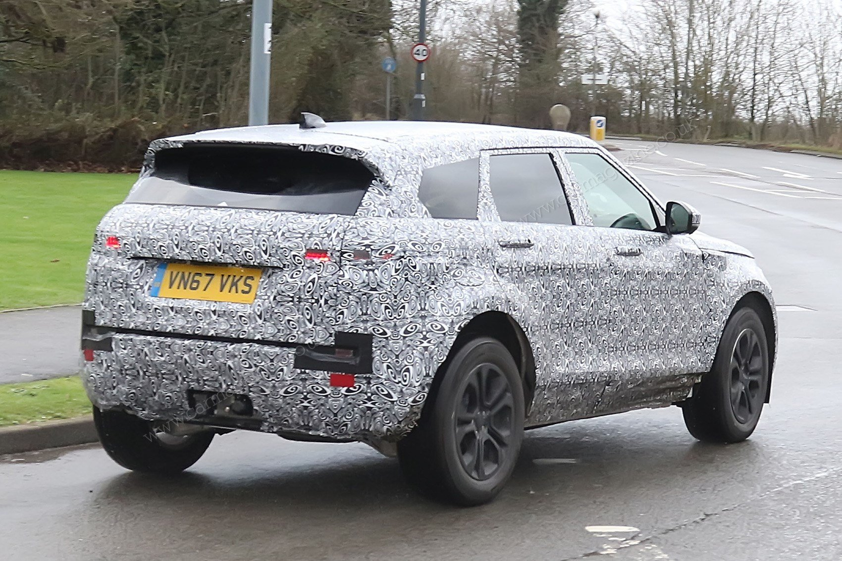 Latest New 2019 Range Rover Evoque Spy Photos Specs Prices Free Download