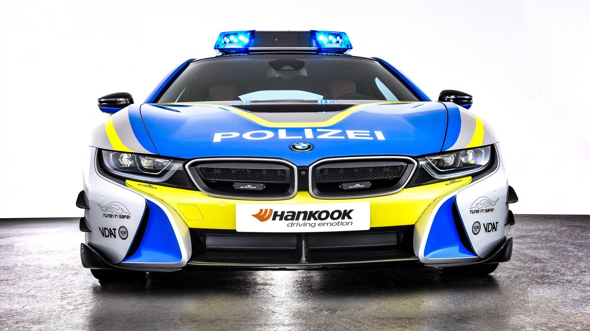 Latest Ac Schnitzer Bmw I8 Polizei Tune It Safe Concept 2019 4K 2 Free Download