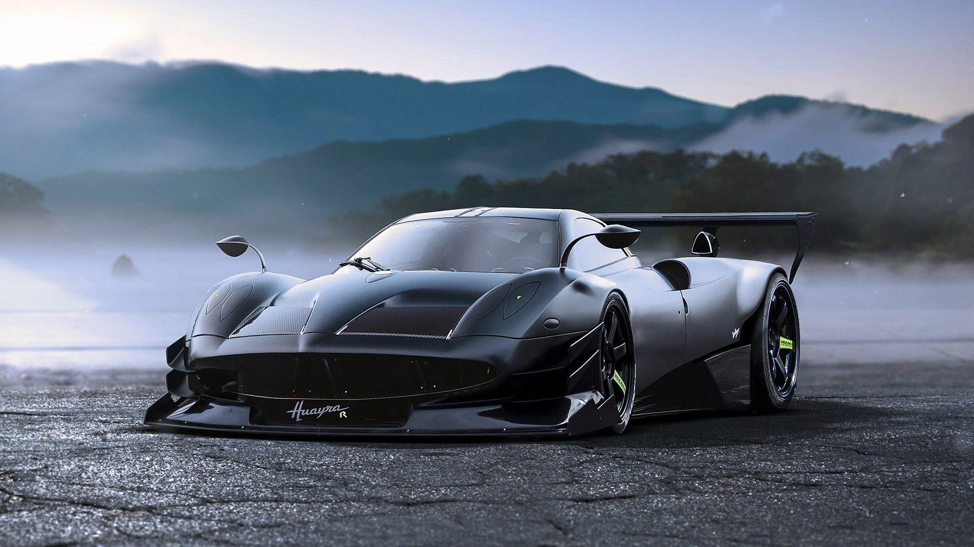 Latest Pagani Huayra R Concept Wallpaper Hd Car Wallpapers Id Free Download