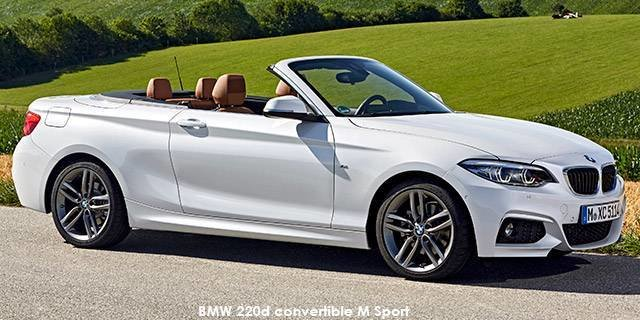 Latest Bmw 2 Series 220I Convertible M Sport Auto Specs In South Free Download