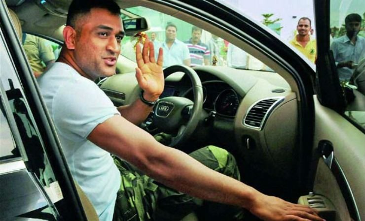Latest Ms Dhoni S Collection Of Cars Motorcycles From Hummer Free Download