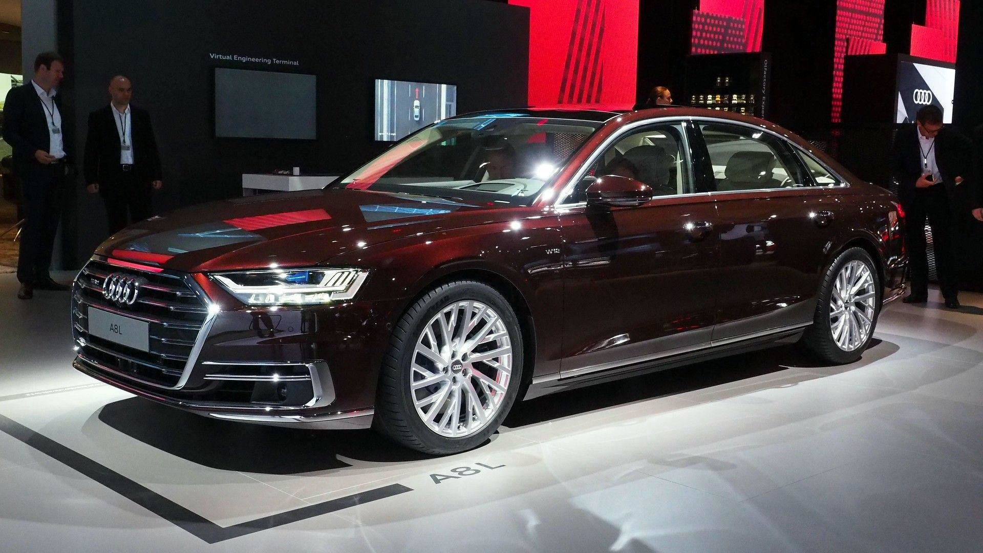 Latest 2018 Audi A8 Has Lasers Foot Massagers And A Big Price Tag Free Download