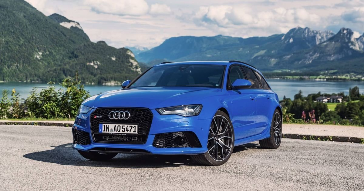 Latest The Audi Rs6 Nogaro Edition Is A 700Bhp Swan Song Free Download