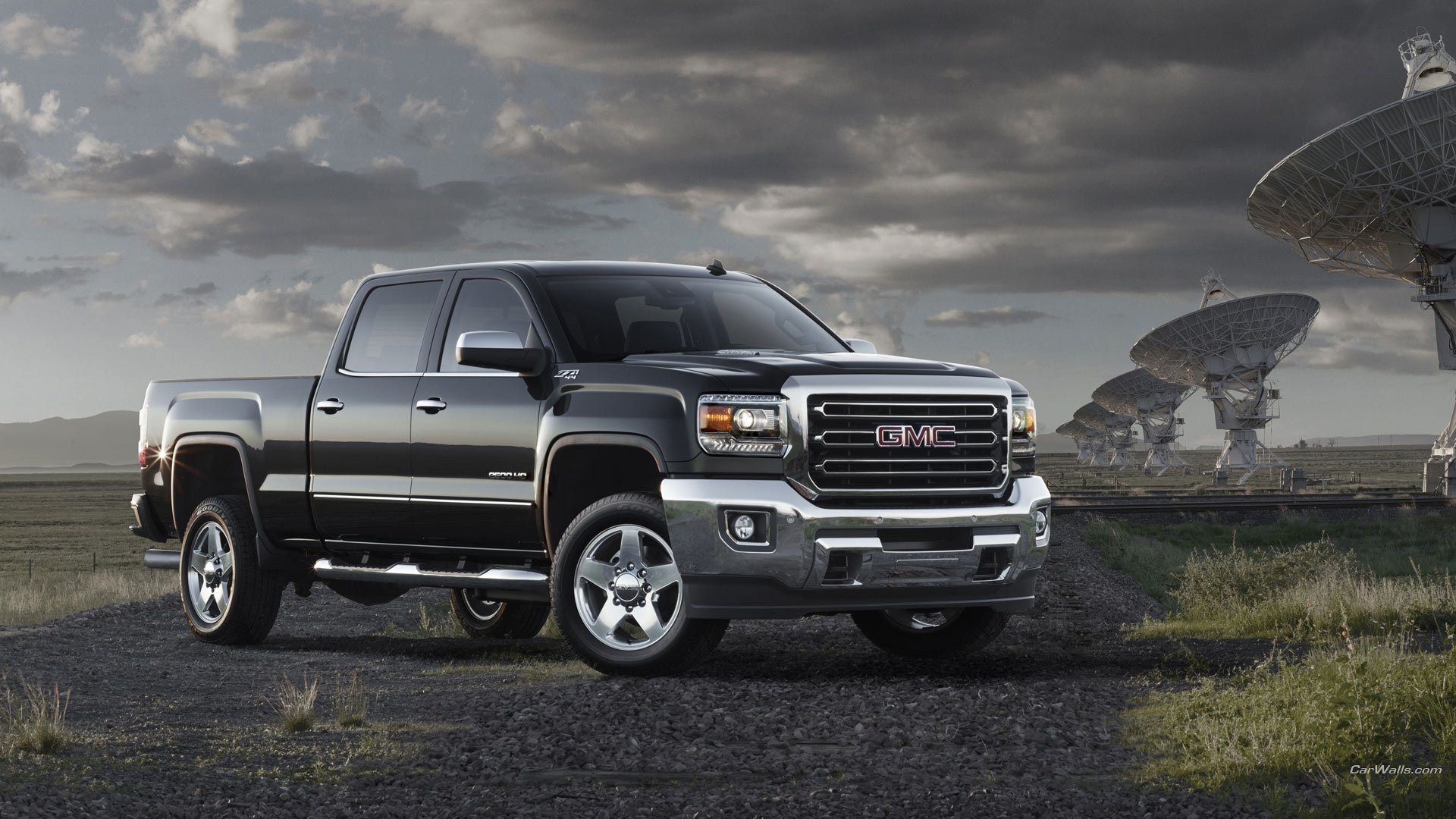 Latest 2015 Gmc Sierra Hd Full Hd Wallpaper And Background Image Free Download