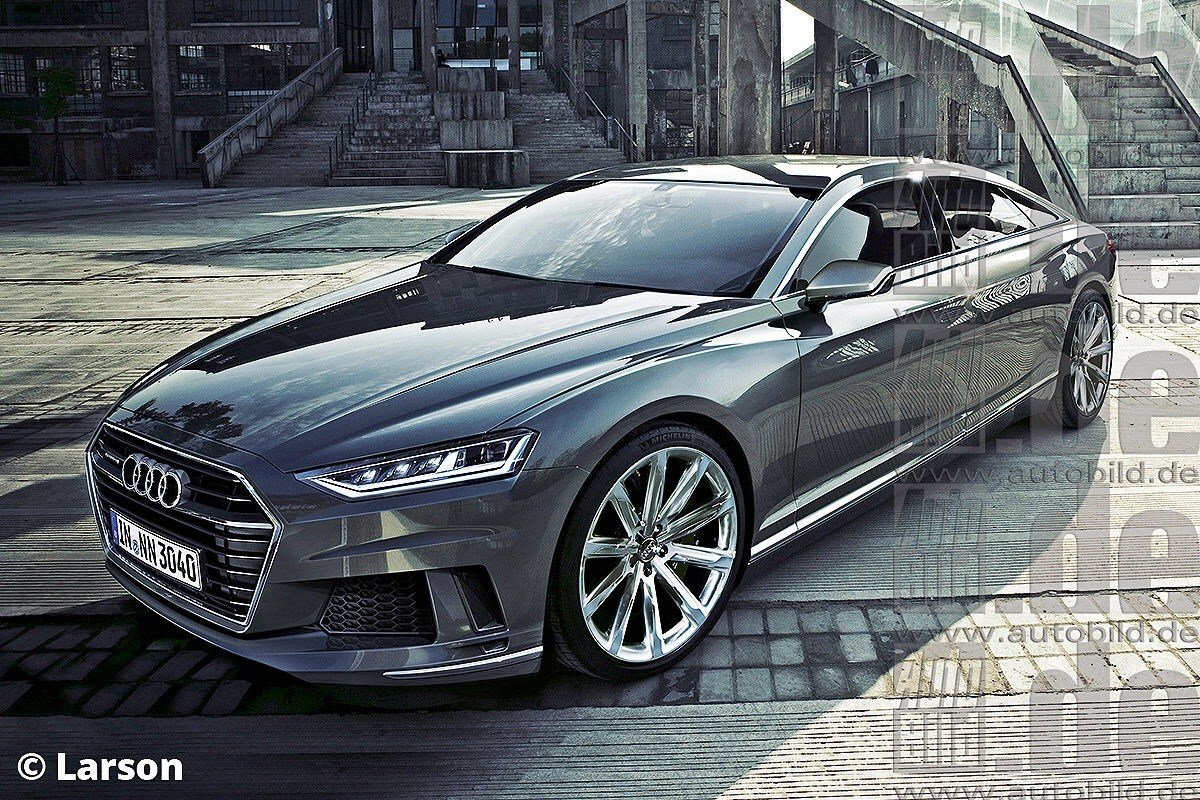 Latest Audi A9 To Enter Production In 2016 Rendered Free Download