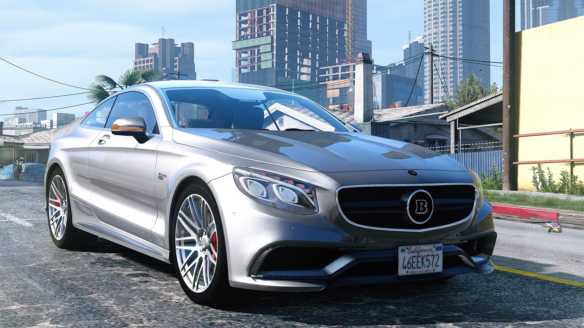 Latest Mercedes Benz Brabus 850 Add On Replace Gta5 Mods Com Free Download Original 1024 x 768