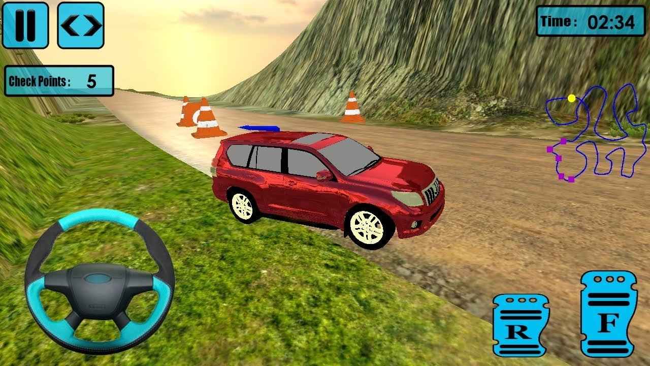 Latest Uphill Climb Mountain Race Offroad Jeep Racing Game Free Download