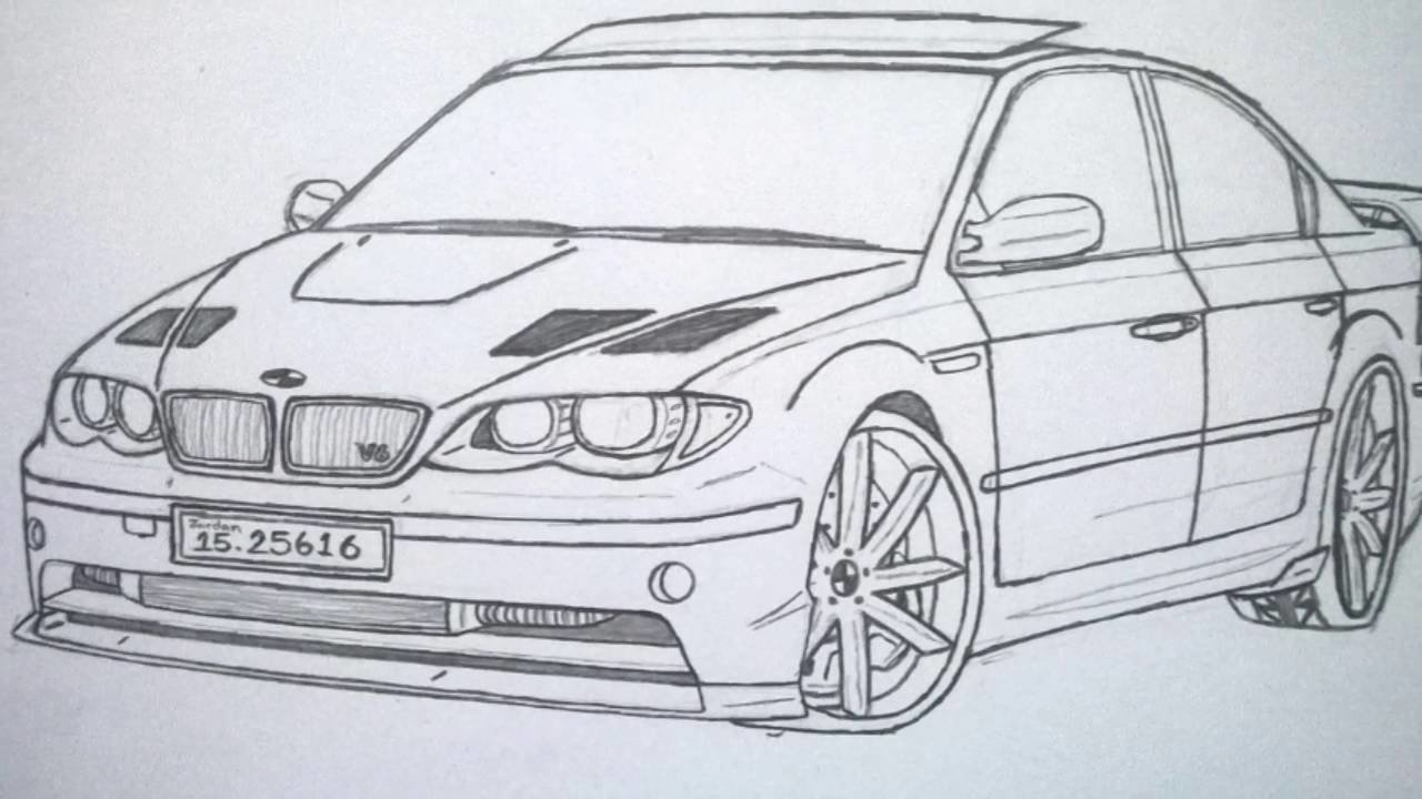Latest Best Car In The World Bmw Drawing Pictures Wissam Tuning Free Download