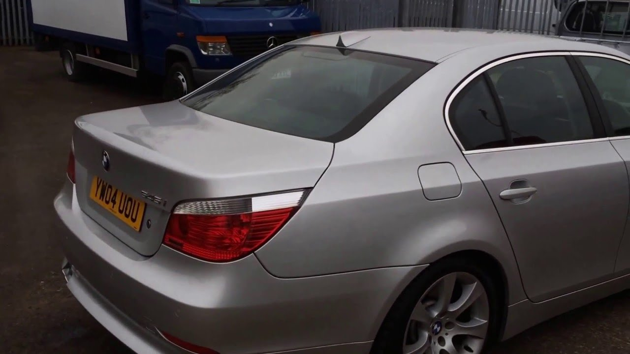 Latest 2004 Bmw 545I V8 Petrol Saloon Car Review Youtube Free Download