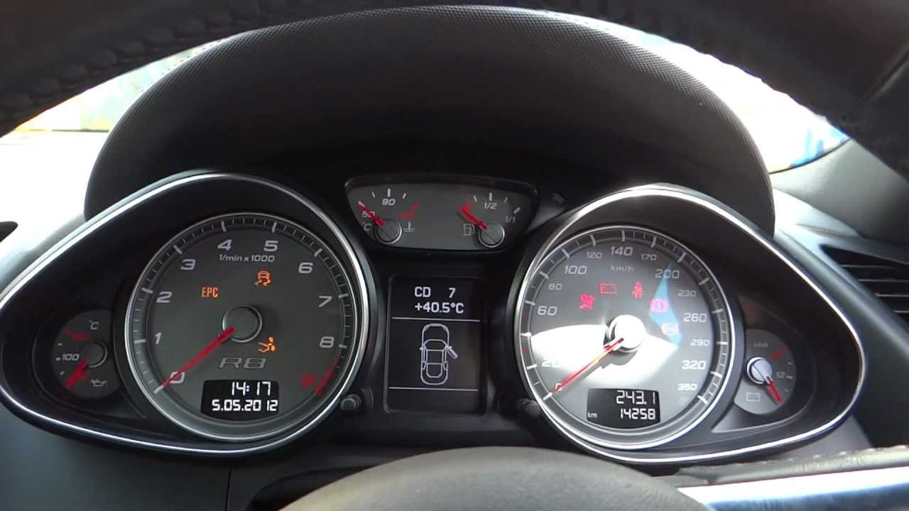Latest Audi R8 Music System And Instrument Cluster Start Up Free Download