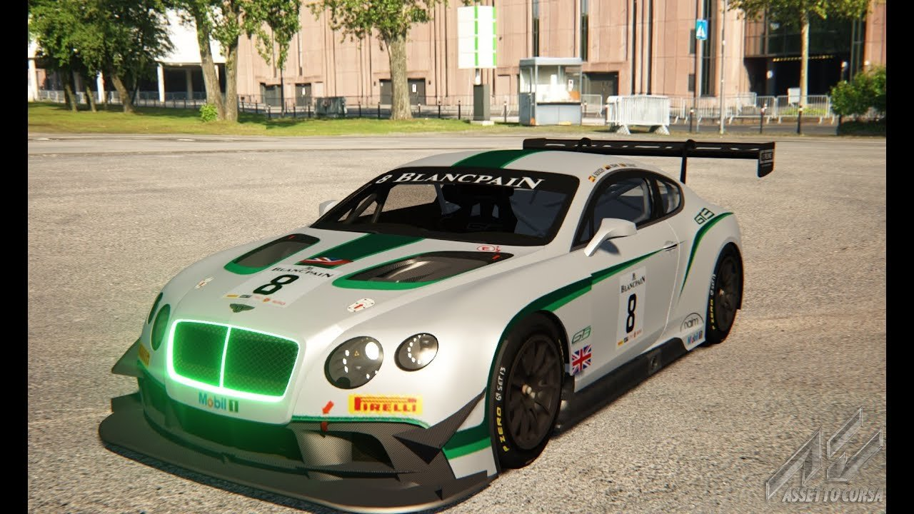 Latest Assetto Corsa Car Mod Bentley Continental Gt3 Spa Free Download