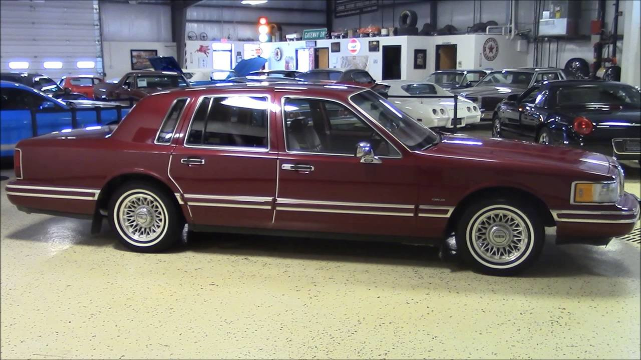 Latest 1993 Lincoln Town Car Youtube Free Download