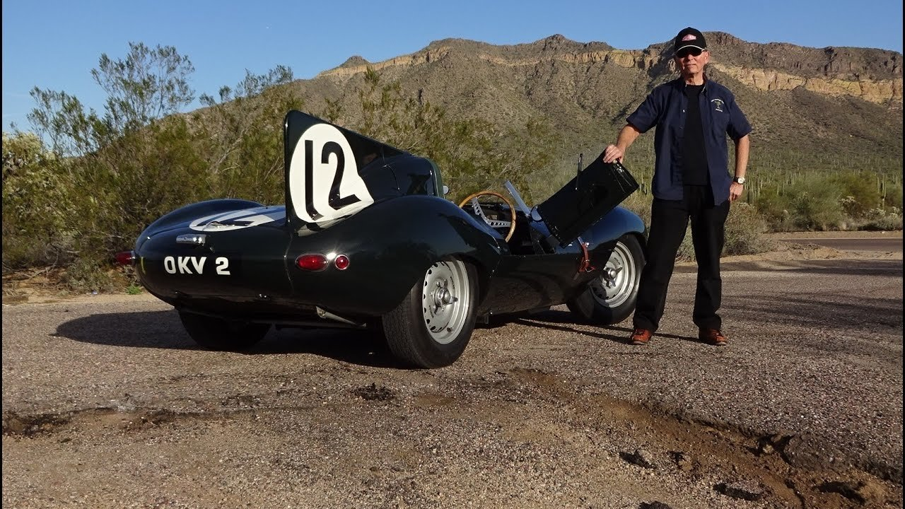 Latest Ride In A Real D Type Jaguar Factory Team Race Car Why Free Download