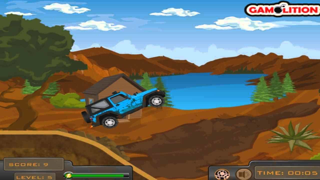 Latest Play Off Road Jeep Hazard Game Free Online Car Games Free Download