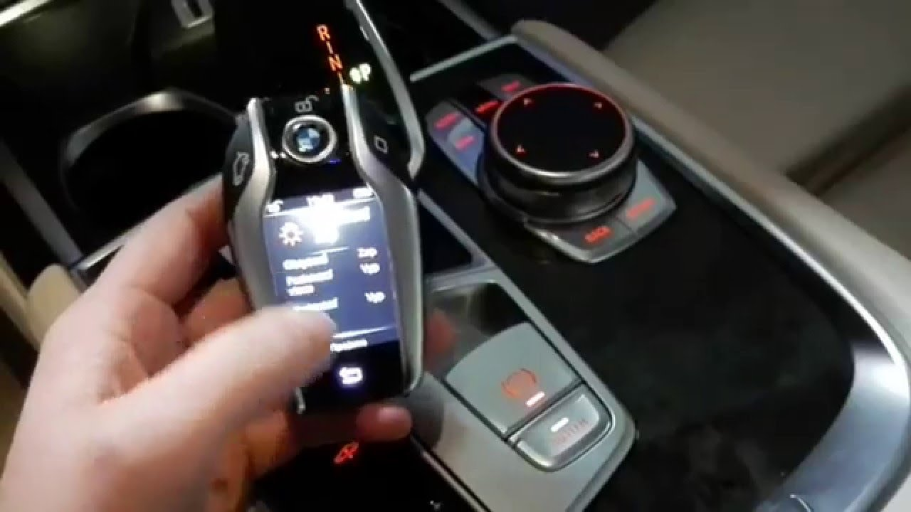 Latest 2016 Bmw 7 Series G11 G12 Car Key With Display Youtube Free Download