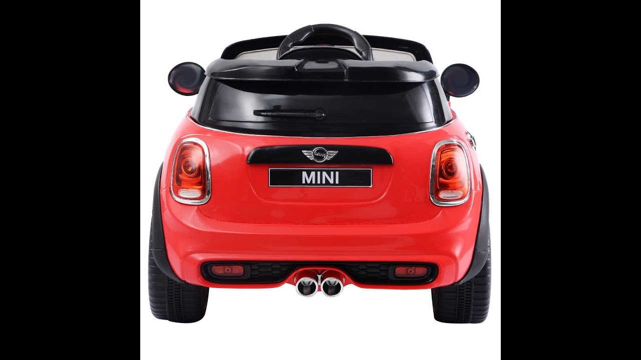 Latest Costzon Red Bmw Mini Cooper 12V Electric Kids Ride On Car Free Download