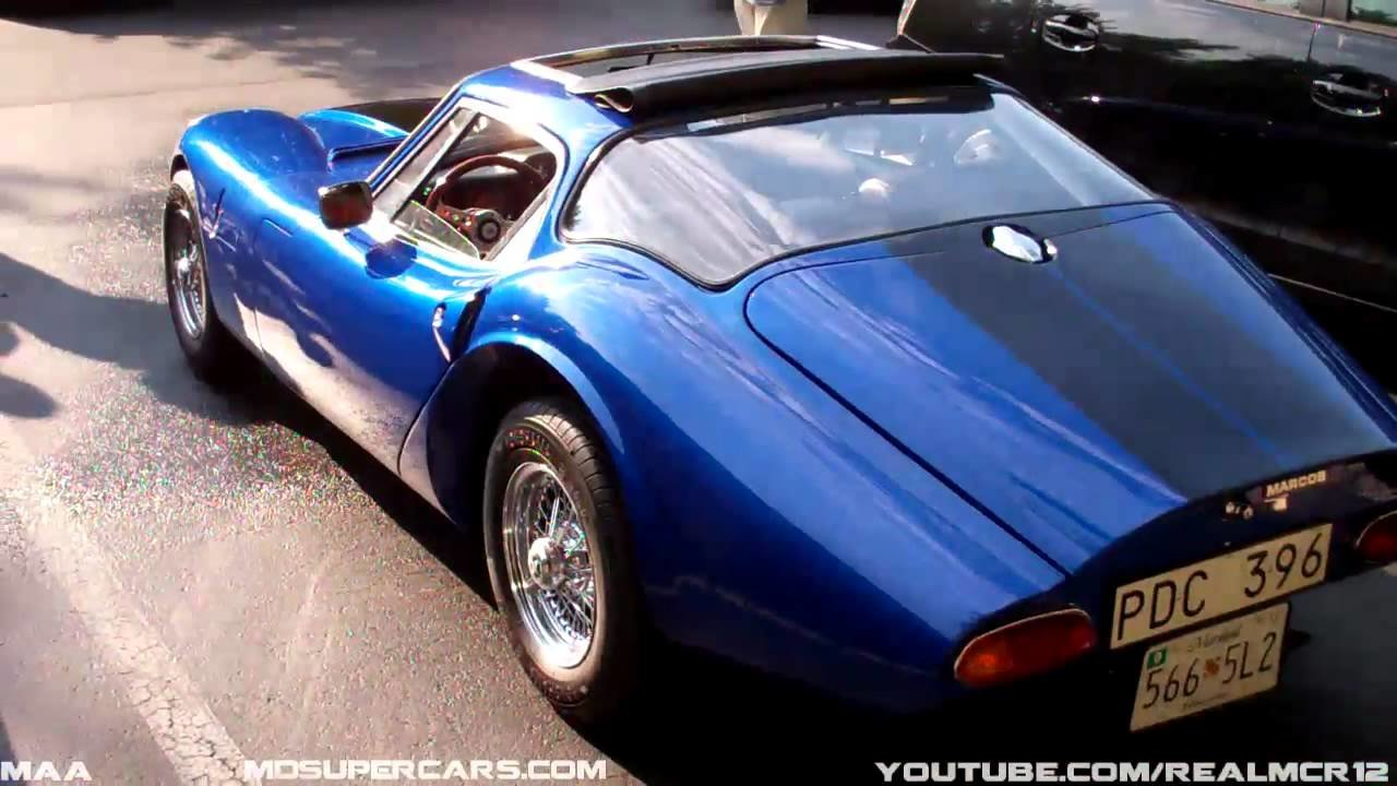Latest Rare Car Marcos 1600 Gt Youtube Free Download