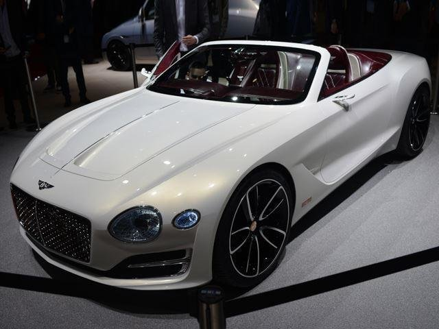 Latest Bentley Chooses To Build Ev Sports Car Over Small Suv Free Download