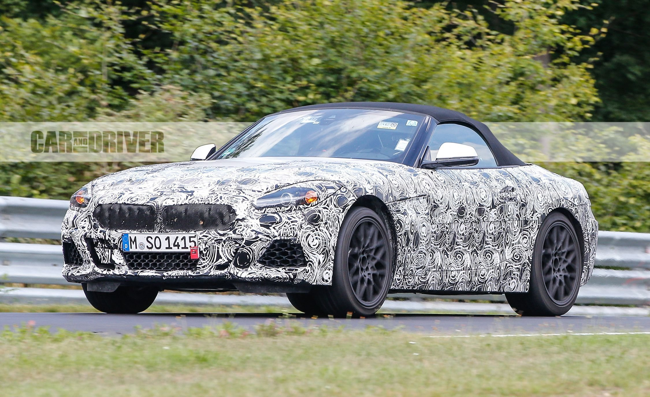 Latest 2019 Bmw Z5 Roadster Future Cars Car And Driver Free Download