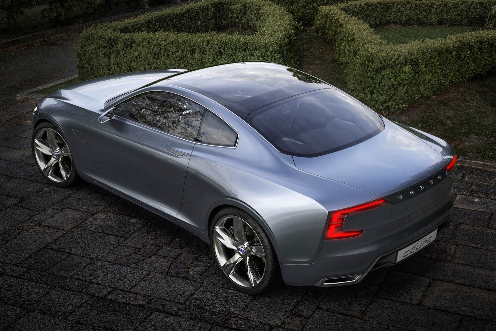 Latest Volvo S Stunning New Concept Coupe Revives The P1800 Free Download