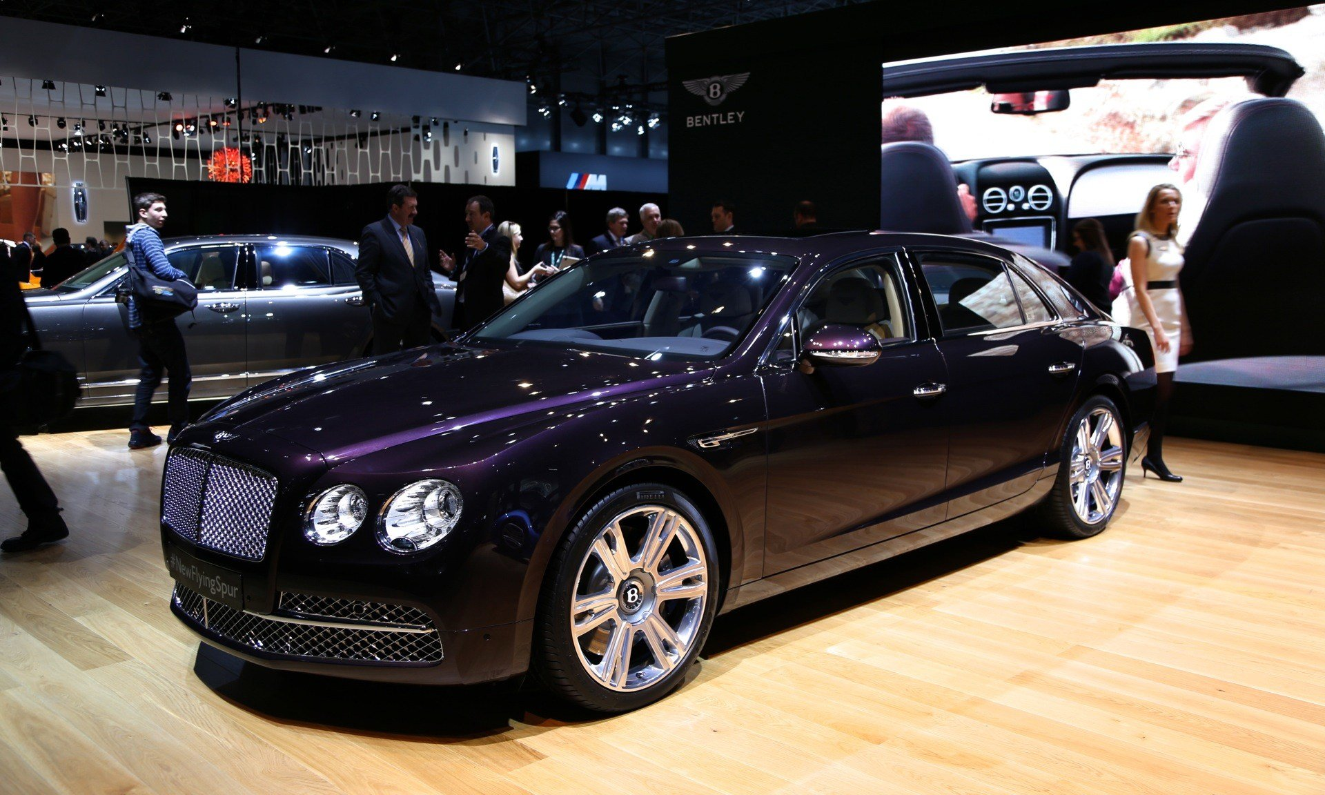 Latest 2014 Bentley Flying Spur Live Photos From The New York Free Download