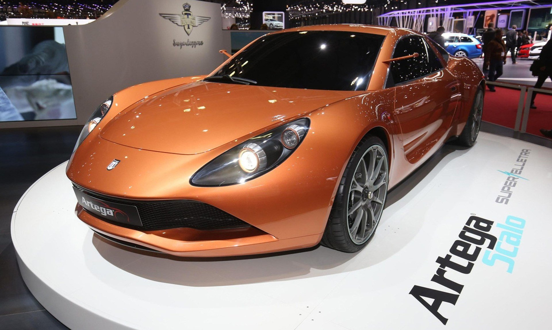 Latest Artega Scalo Superelletra Is An Electric Supercar Designed Free Download