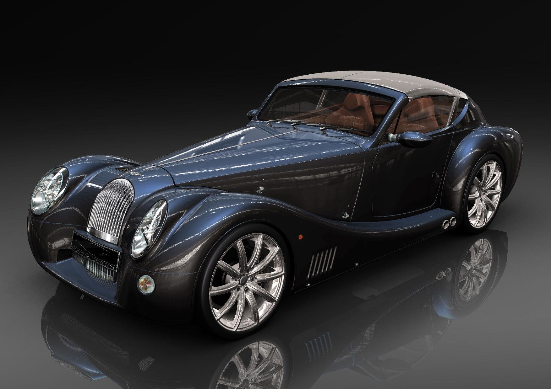 Latest Morgan Plus E Electric Roadster Modern Battery In Classic Car Free Download