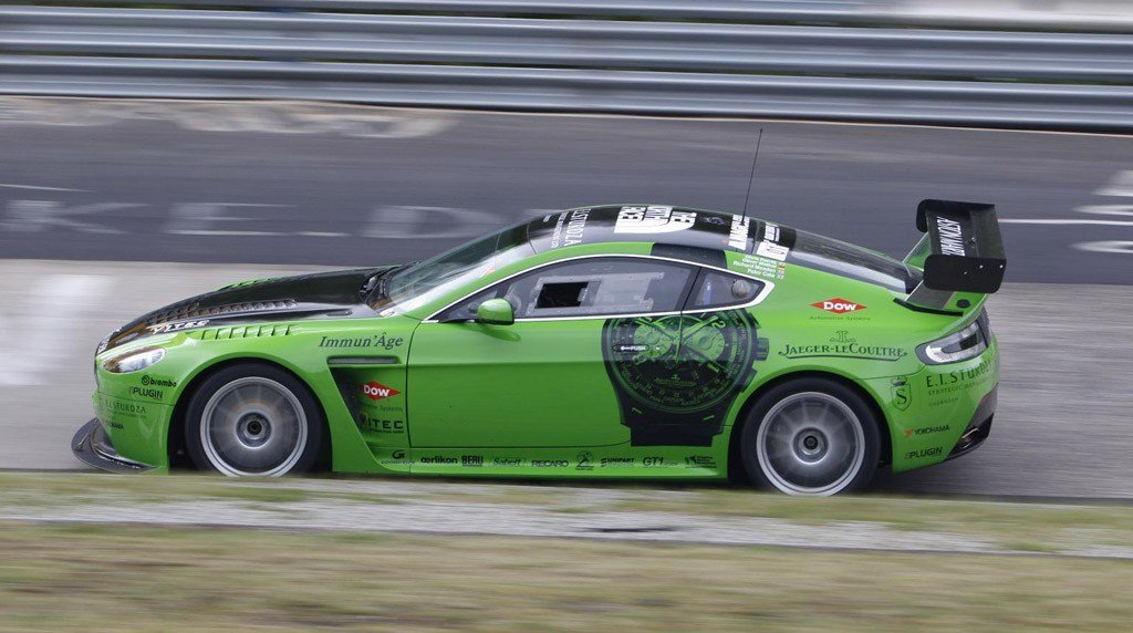 Latest Aston Martin V12 Vantage To Join Rapide In Nurburgring 24 Free Download