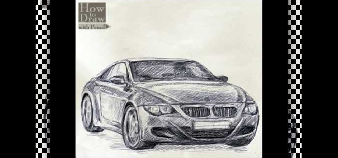 Latest How To Draw A Bmw Car « Drawing Illustration Wonderhowto Free Download