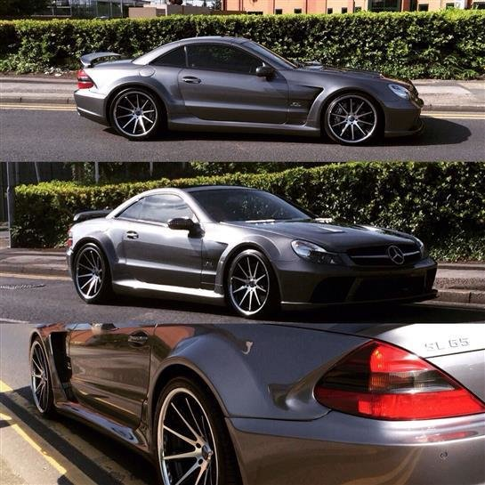 Latest Classic Mercedes Sl65 Amg Black Series Bi Turbo Body Ki Free Download