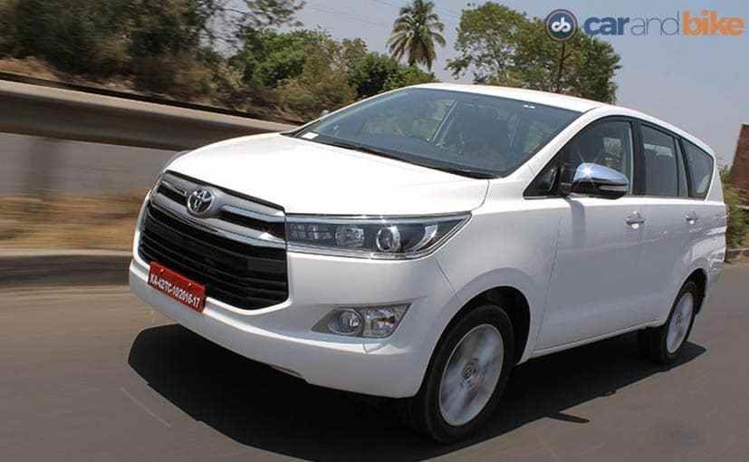 Latest Toyota Innova Crysta Petrol All You Need To Know Ndtv Free Download