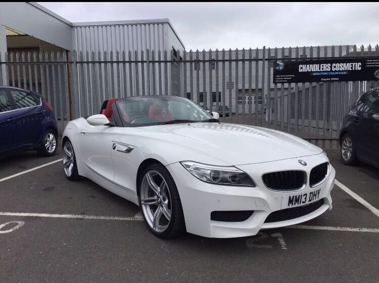 Latest Bmw Z4 White Red Leather For Sale In Hove East Sussex Free Download