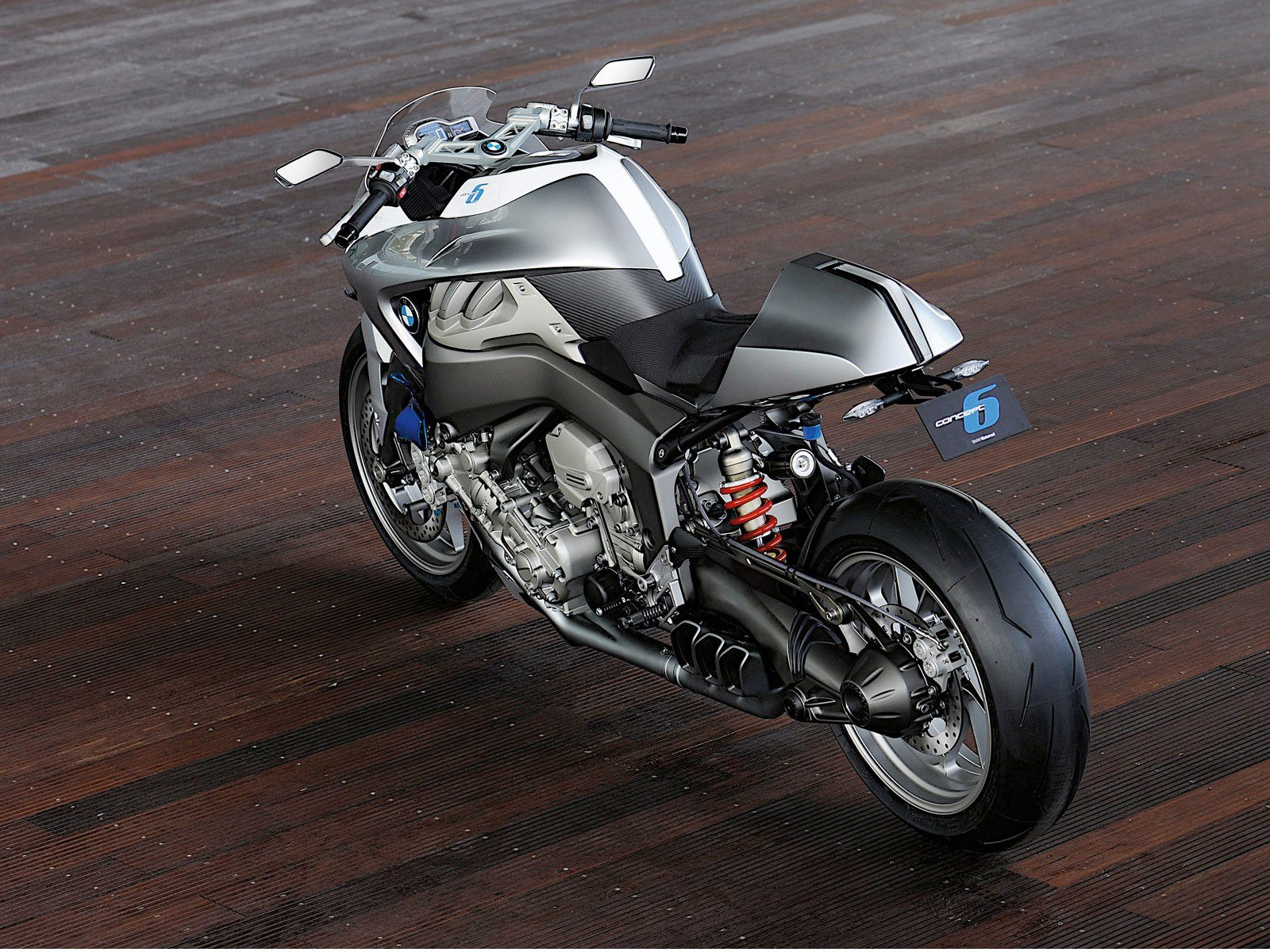 Latest Bmw Motorrad Concept 6 2010 Motorcycle Big Bike Free Download