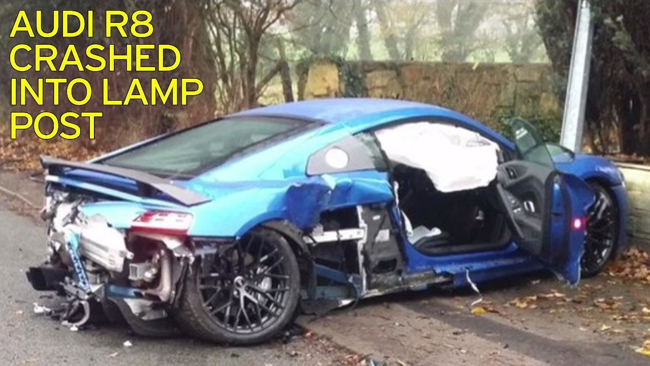 Latest 205Mph Audi R8 Supercar Worth £120K Destroyed After Free Download