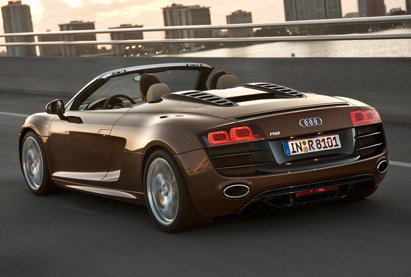 Latest Audi R8 Spyder Convertible Supercar India Launch– Details Free Download