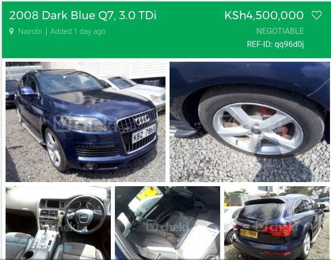 Latest Check Out Huddah S New Car It S An Audi Q7 Photo Free Download