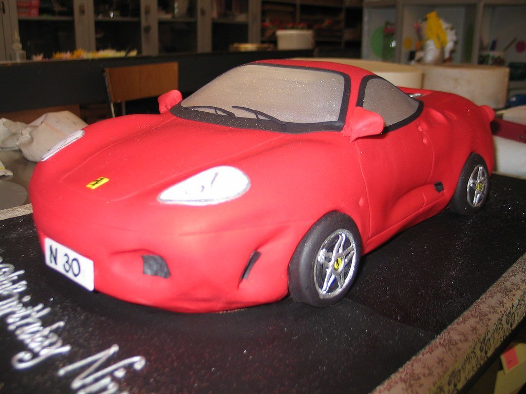 Latest 3D Ferrari Car Shaped Birthday Cake Charly S Bakery Flickr Free Download