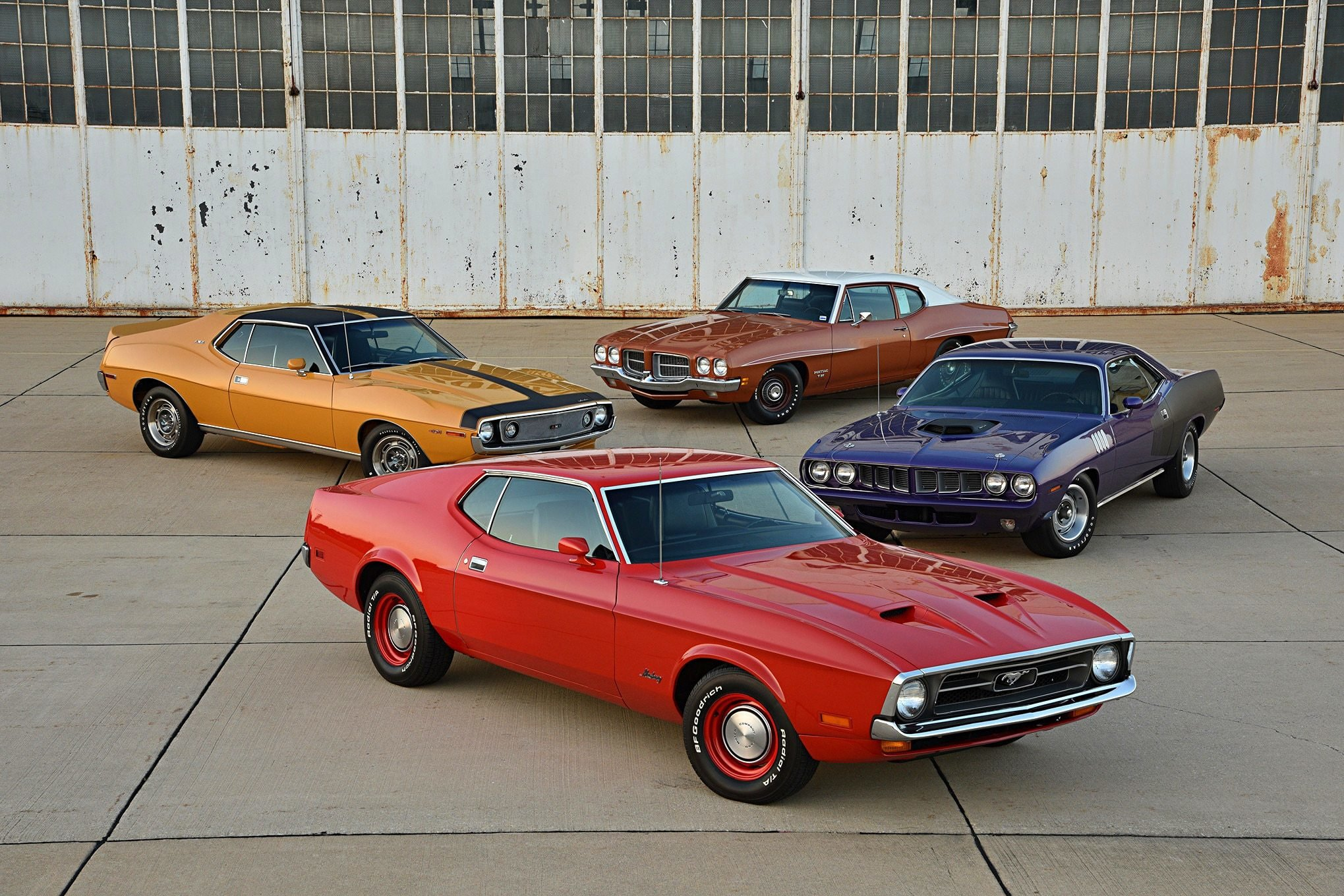 Latest Four Of The Hottest Muscle Cars Of 1971 Preview The Free Download
