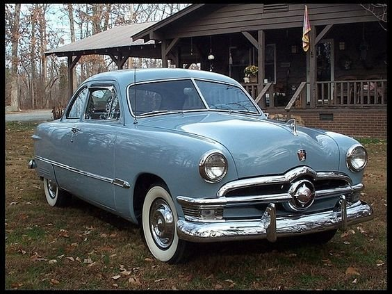 Latest 1950 Ford Custom Coupe Single Spinner Had A Car Like Free Download