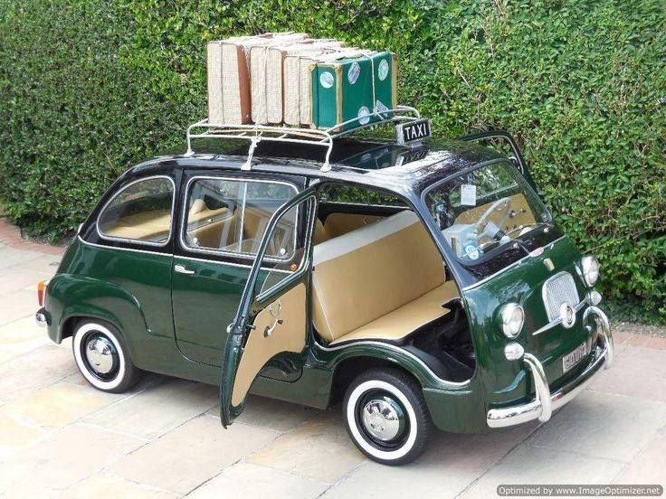 Latest Fiat 600D Multipla Taxi Mpv Classic Old Cars What Else Free Download