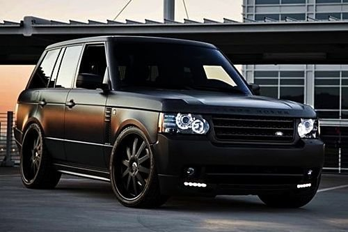 Latest Matte Black Range Rover Sport Autobiography For The Kids Free Download