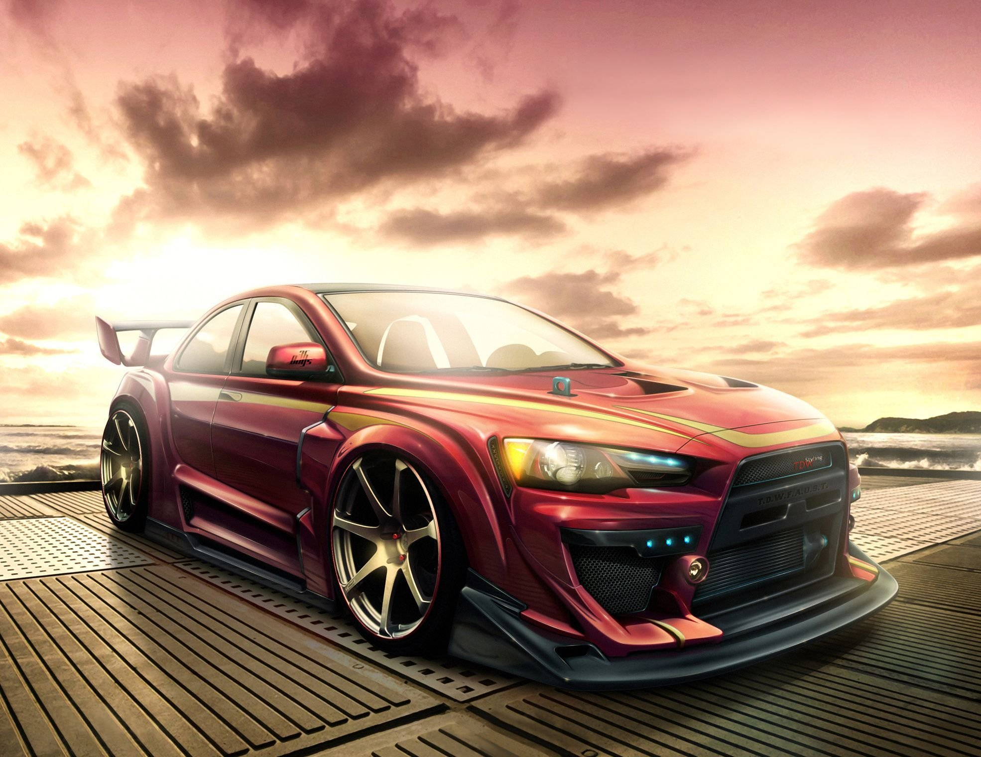Latest Download Wallpaper Mitsubishi Lancer Evo X Cars Free Free Download
