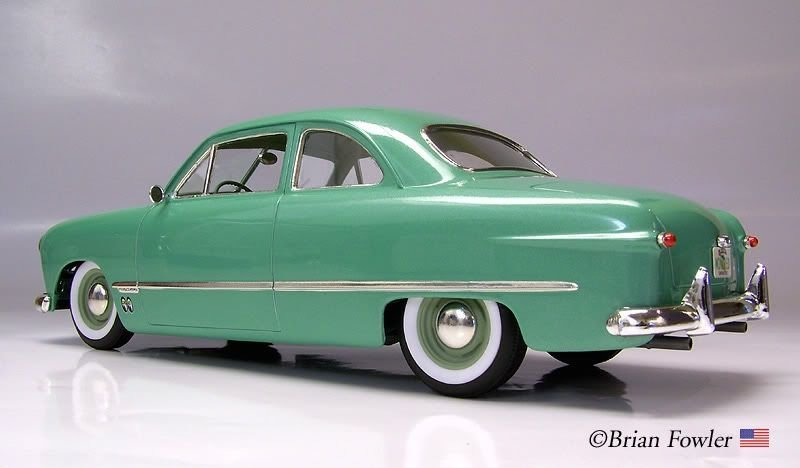Latest 49 Ford Mild Custom Under Glass Model Cars Magazine Free Download