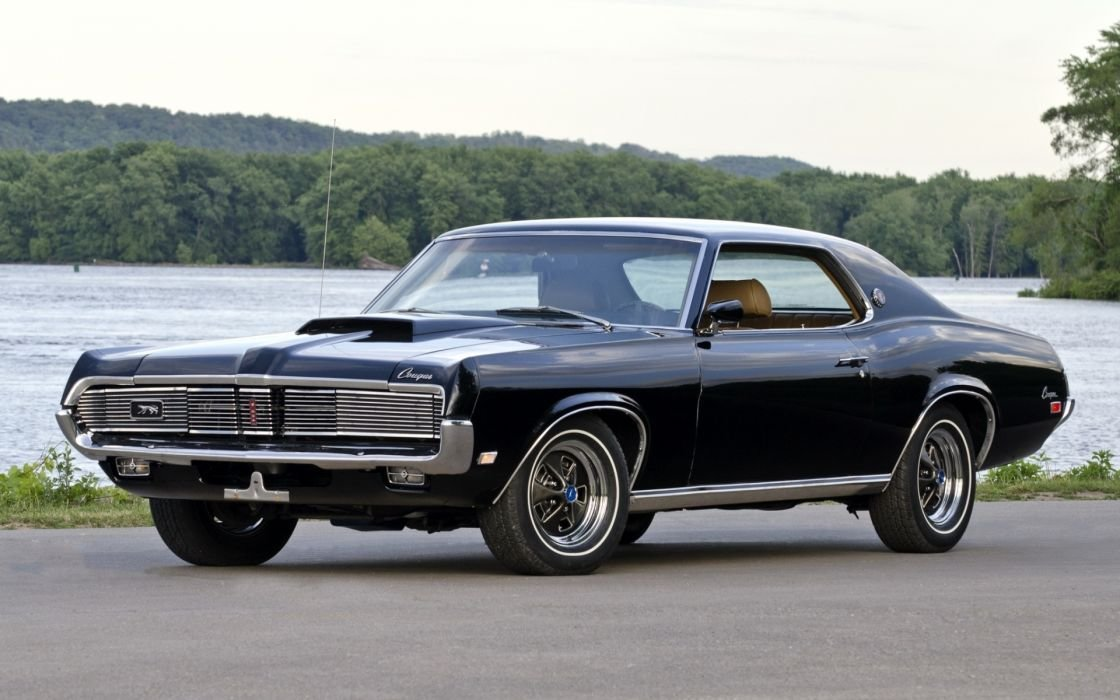 Latest Mercury Cougar Xr 7 1969 Muscle Car Wallpaper 1920X1200 Free Download