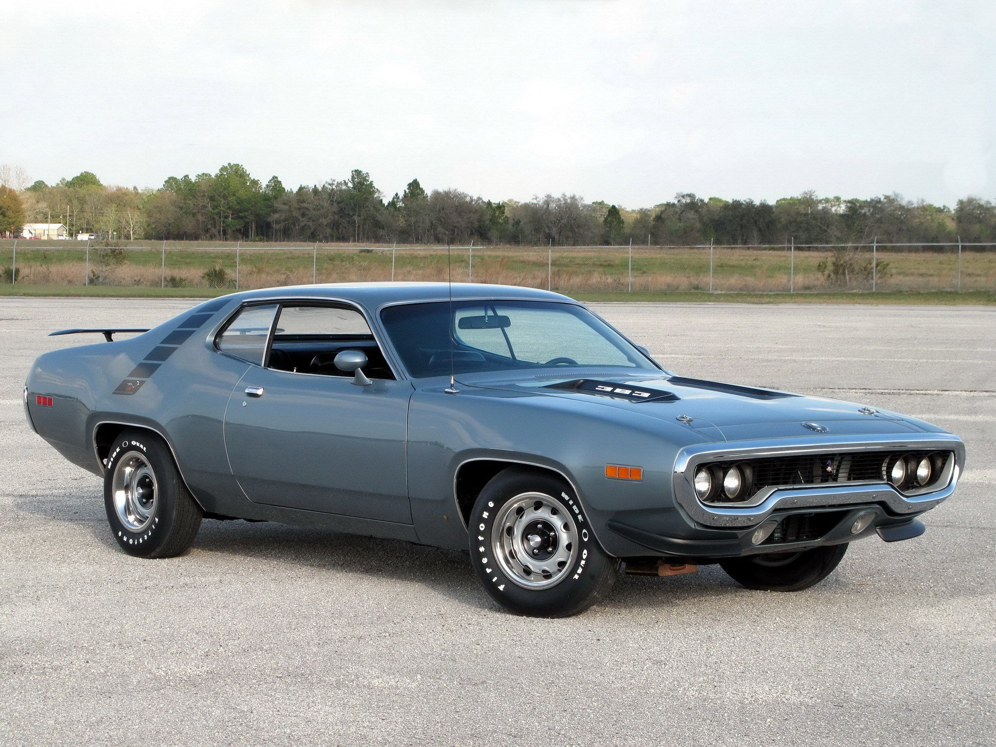Latest Road Runner 1971 Muscle Car Plymouth Wallpaper 2048X1536 Free Download