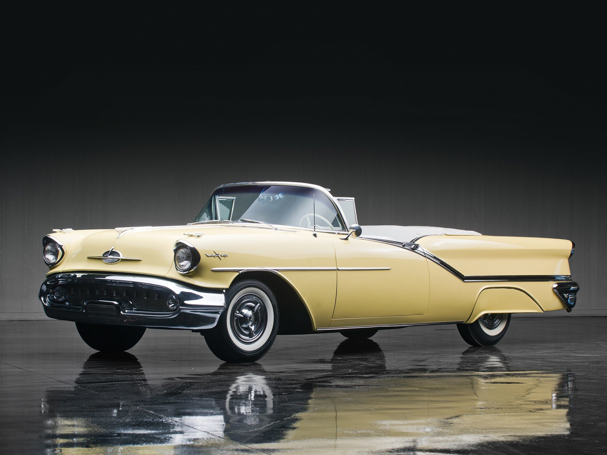 Latest 1957 Oldsmobile Starfire 98 Convertible 3067Dx Retro 9 8 Free Download
