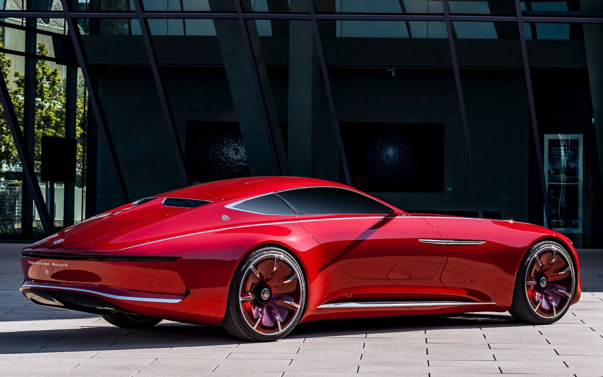 Latest 2016 Vision Mercedes Maybach 6 Wallpapers And Hd Images Free Download