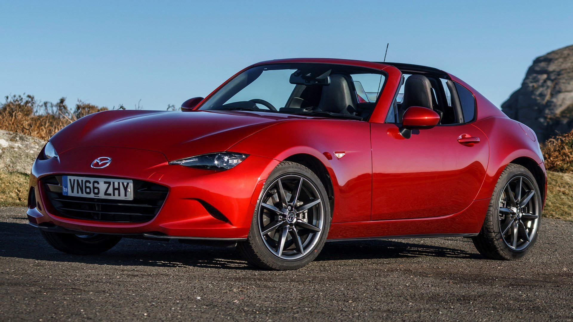 Latest 2017 Mazda Mx 5 Rf Uk Wallpapers And Hd Images Car Pixel Free Download