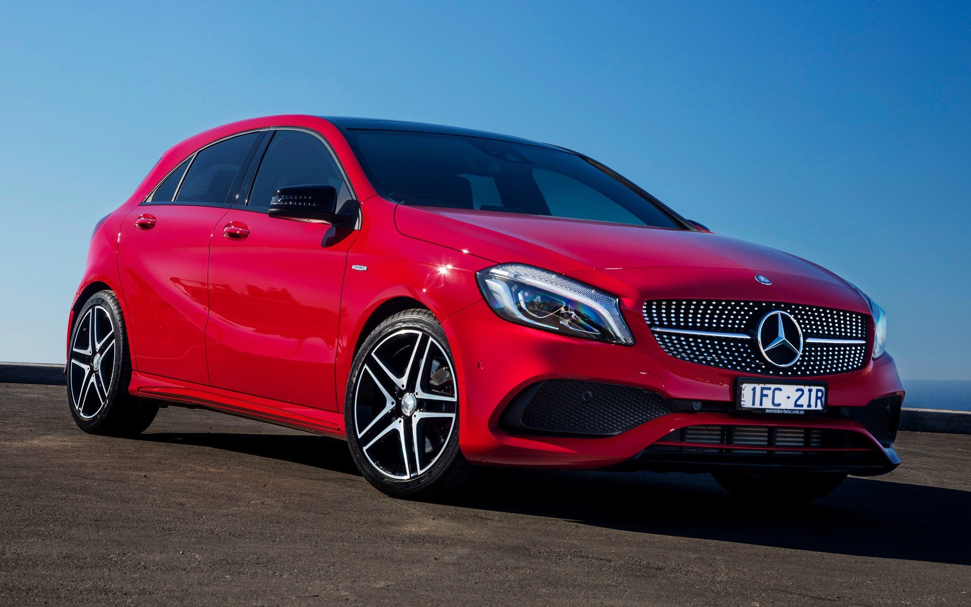 Latest 2016 Mercedes Benz A Class Sport Au Wallpapers And Hd Free Download